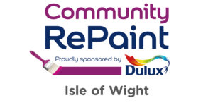 Community RePaint. Proudly sponsored by Dulux. Isle of Wight.