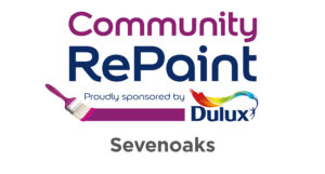 Community RePaint. Proudly sponsored by Dulux. Sevenoaks.