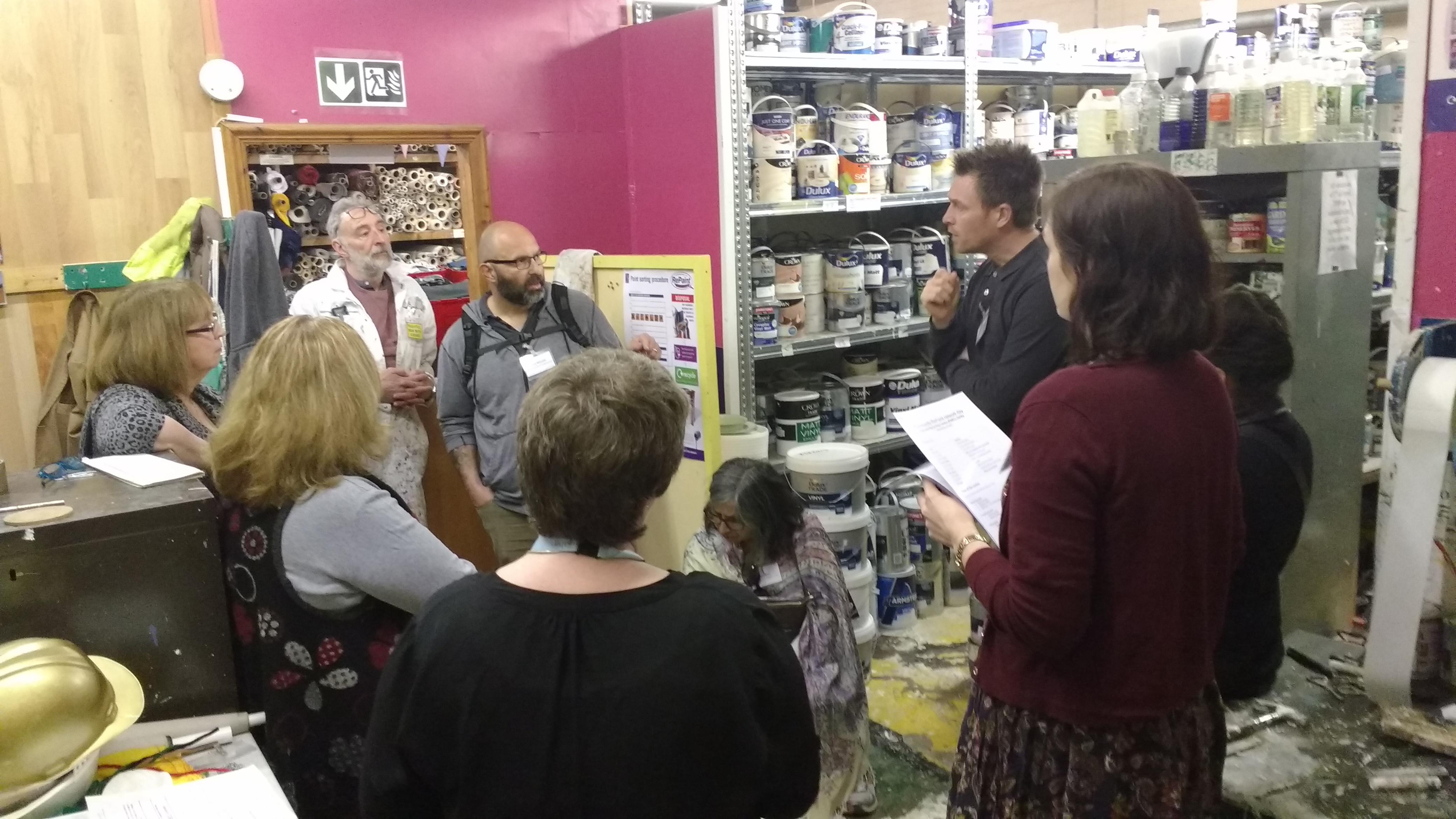 Community RePaint network day scheme tour