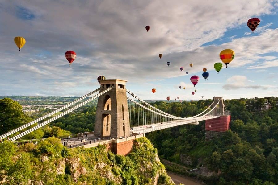 Balloon festival Bristol.