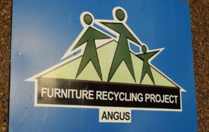 Furniture recycling project logo.