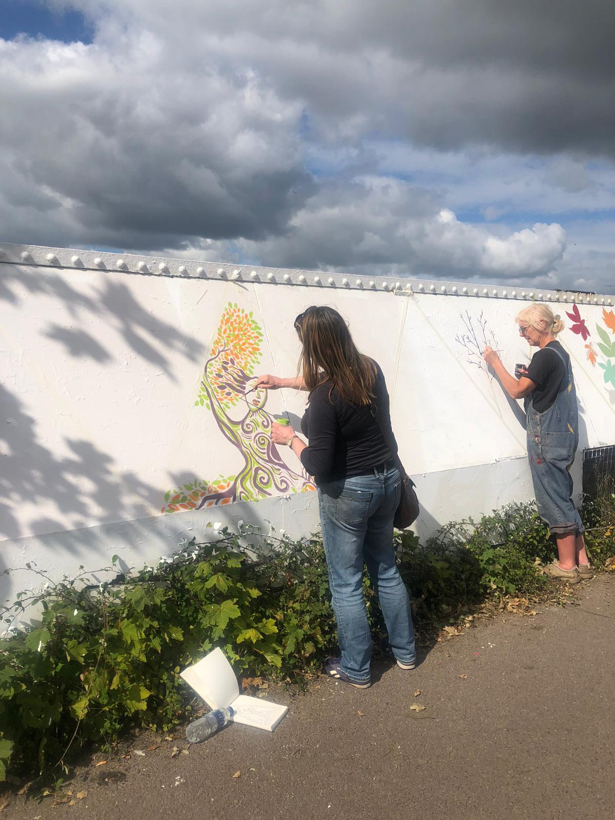 Cheltenham Paint Festival, People Painting