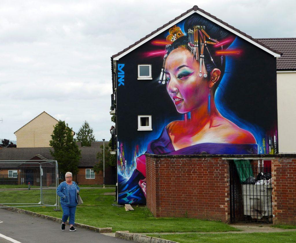 Cheltenham Paint Festival Street Art