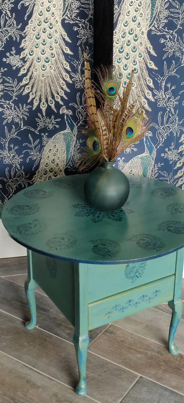 Upcycled furniture using ReColour chalk furniture paint #MyTimeToPaint