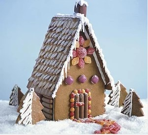Ginger Bread House DIY Christmas Decorations