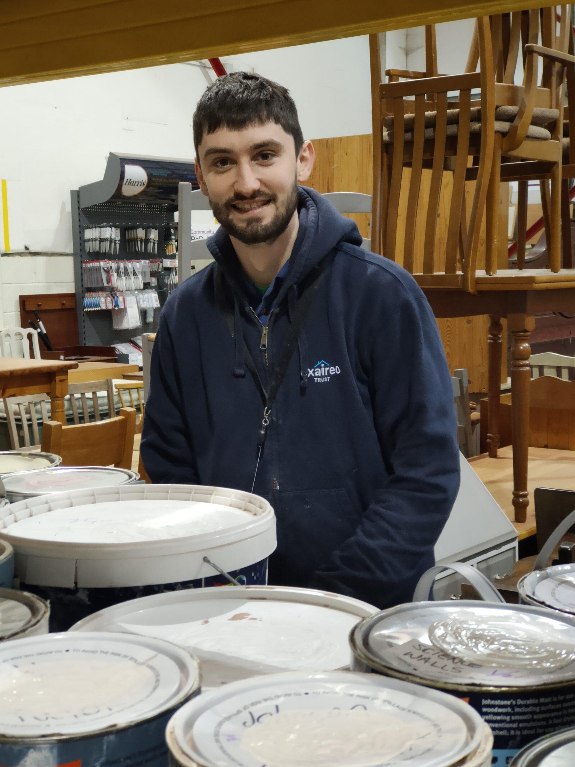 Matt Wood Shop Manager at Community RePaint Loughborough
