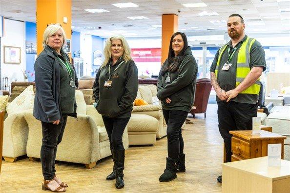 Staff the Northfield Community RePaint Scheme