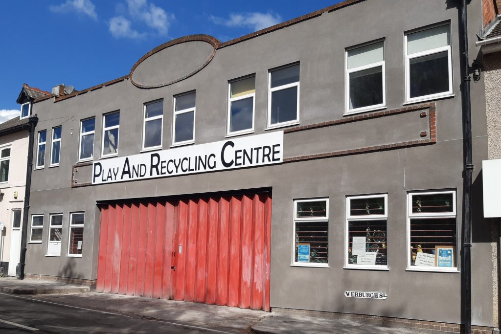 Exterior of Community RePaint Derby