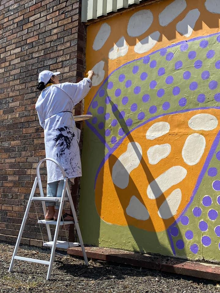 Safrana Art painting mural