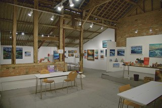 Westbury Art Centre interior