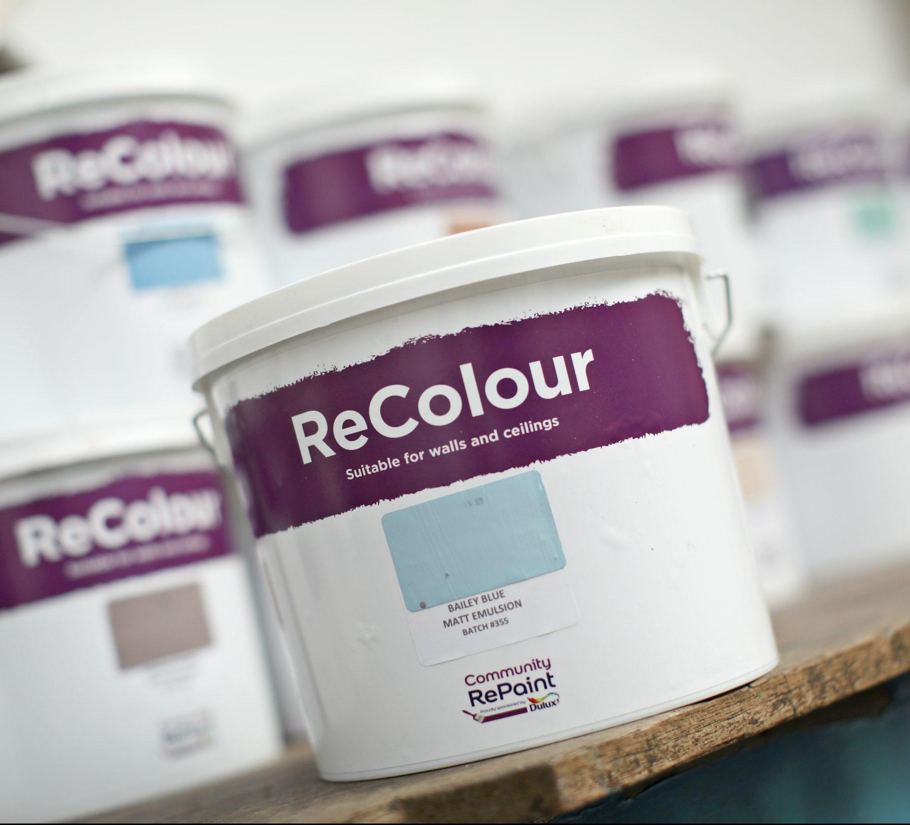 Tub of ReColour paint