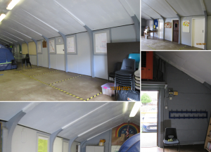 Northampton Community RePaint scout hall renovation